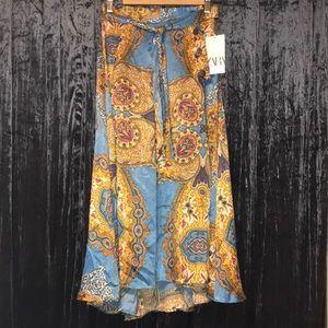 Gorgeous Zara Satin Skirt
